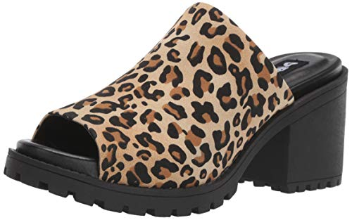 Dirty Laundry by Chinese Laundry Women's FAIR Play Mule, Tan Leopard, 5.5 M US