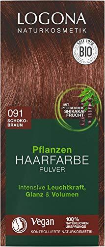 Logona Bio PHF Pulver 091 schokobraun (6 x 100 gr)