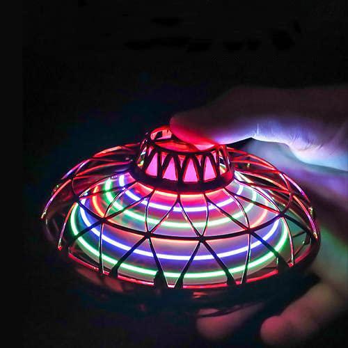 11CM Mini UFO Drohne - Bunte Leuchtende...