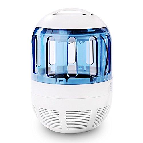 Lámpara Antimosquitos Fochea LED UV Lámpara Eléctrico Trampa del Mosquito...