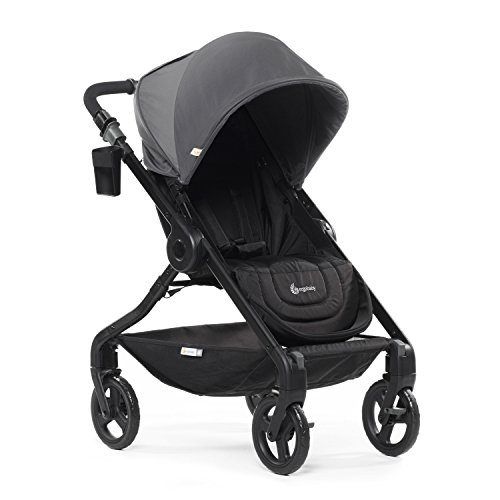 Ergobaby 180 Reversible Stroller with One-Hand Fold, Graphite