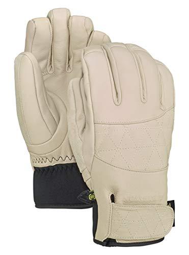 Burton Womens Gondy Gore-Tex Glove, Creme Brulee, Small