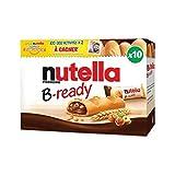 Nutella B-ready x10 Biscuits 220g (lot de 4)