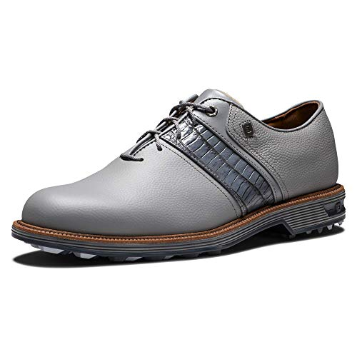 FootJoy Men's Premiere Series-Packard Golf Shoe, Grey/Grey, 11