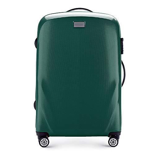 WITTCHEN Mittlerer Koffer Material Polycarbonat 4 Lenkrollen Zahlenschloss Hartschalen Gewicht 3.9KG...