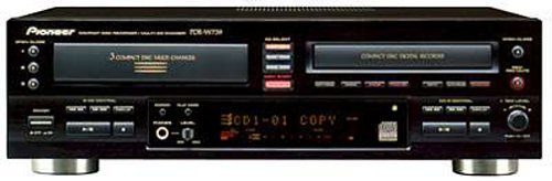 Pioneer PD-RW739 CD Recorder (Discontinued by Manufacturer)