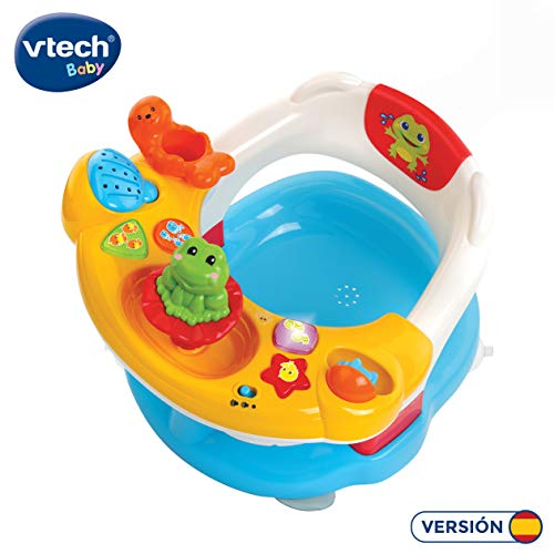 Vtech Aquasilla 2 en 1, silla de baño y panel de