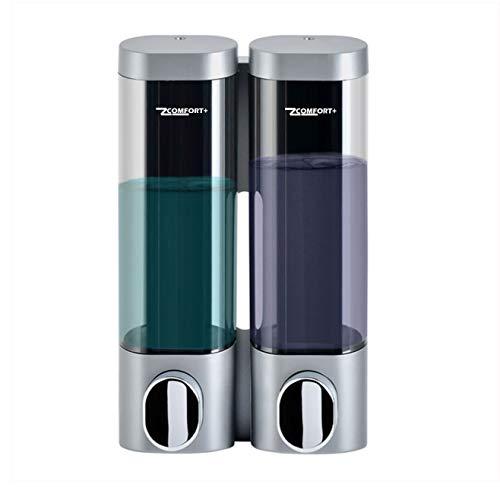 Comfort Wall Mounted Handmatige Dispenser voor Vloeibare Zeep Douchegel Conditioner Shampoo Lotion Handreiniger