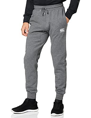 Canterbury of New Zealand - Pantaloni in Pile Affusolati da Uomo, Uomo, Pantaloni, E513126975, Carbone Marl, L (34-36 Inches)