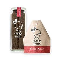 INIC coffee スムースアロマ 瓶 55g & 詰め替え用 リフィル 55g 【定番のレギュラーブレンド】【パウダーコーヒーの最高峰】【世界のバリスタチャンピオンも採用の味わい】