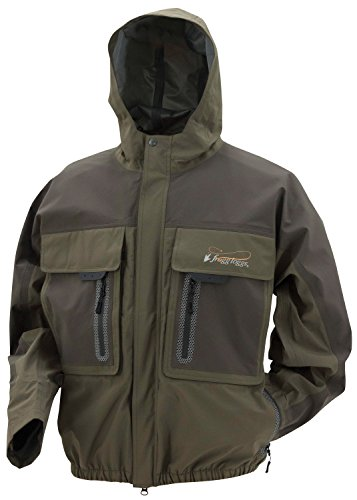 FROGG TOGGS Men's Pilot 3 Guide Waterproof Rain Jacket, Stone/Taupe, X-Large