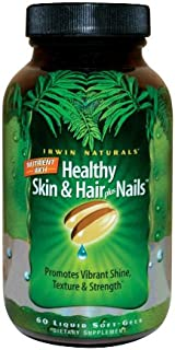Irwin Naturals Nutrient Rich Healthy Skin & Hair Plus Nails 60ct