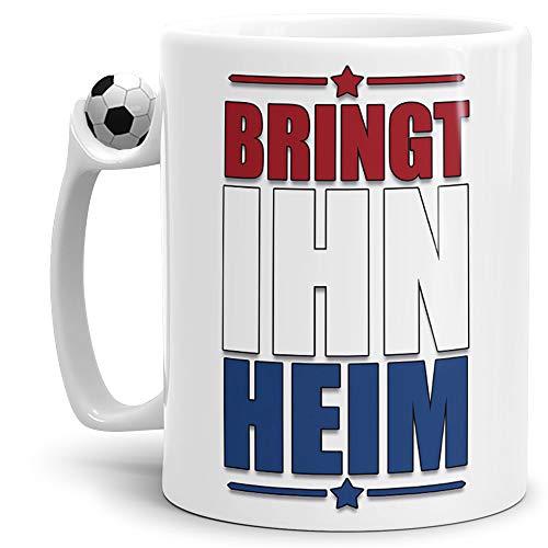 Fan-Tasse Bring Ihn Heim Niederlande-Tasse Zum Fussball/Weltmeisterschaft/WM/Mug/Cup/Tor/Fussball-Tasse