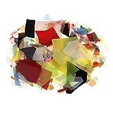 Baoblaze 28g Fusible Glass Fusing Glass Confetti Horno de Microondas Fusión de Vidrio Suministros