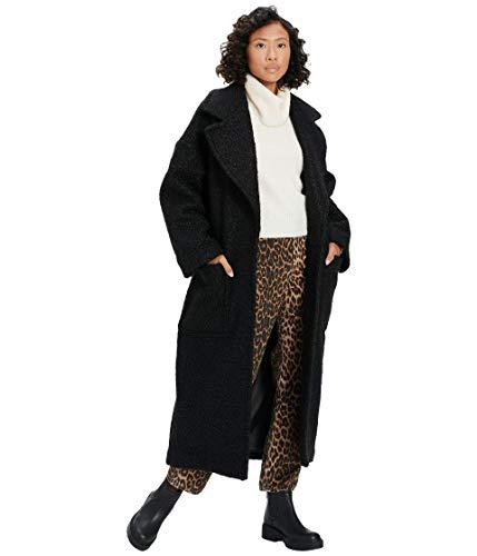 UGG Hattie Long Oversized Mantel 2021 Black, S