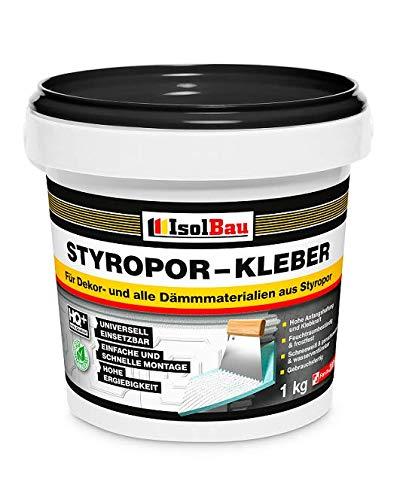 Styroporkleber Styropor- und Renoviervlieskleber 1 kg Deckenplatten Kleber