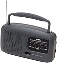 GE 72664 Portable AM/FM Radio, Black (Discontinued by Manufacturer)