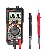 Multímetro Digital Profesional, Medidor Eléctrico Multifunción de Alta Precisión Electricista Medidor Universal Resistencia Corriente Voltaje Capacitancia