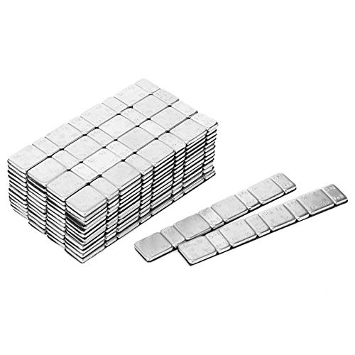 Emoshayoga Adhesivo Adhesivo para el Equilibrio de la Rueda Adhesivo para Accesorios de automóvil(Mix and Match a Box of 5g+10g*4)
