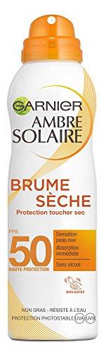 Garnier Ambre Solaire - Vapor protector seco al tacto, FPS 50, 200 ml