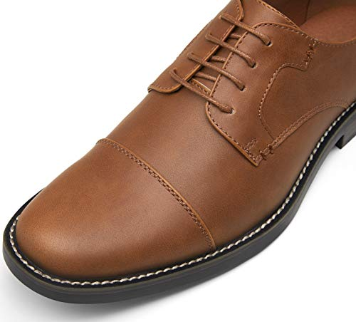 JOUSEN Men's Dress Shoes Retro Casual Dress Shoes for Men