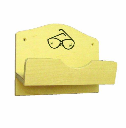 Interline 45300560 Brillenhalter Holz für 1 Brille
