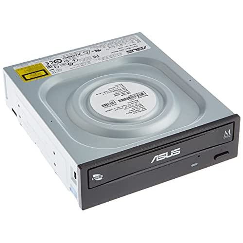 ASUS DRW-24D5MT Masterizzatore Interno, velocità di Scrittura 24x, Supporto M-Disc, Cyberlink Power2go8 (Versione per utente Finale)