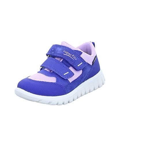 Superfit Baby Mädchen SPORT7 Mini Sneaker, Blau (Blau/Lila 82), 29 EU