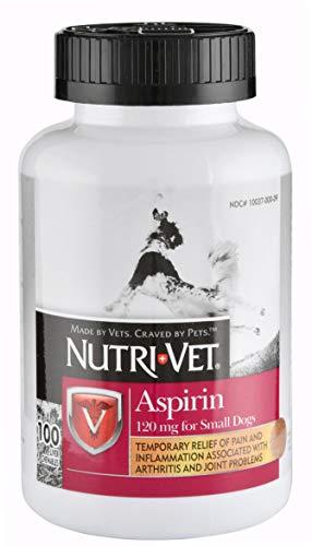 Nutri-Vet K-9 Buffered Aspirin Small Dog 100 Count