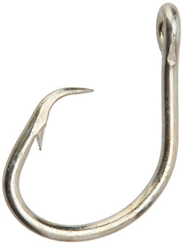 Mustad Classic 2 Extra Strong in Line Point Duratin Circle Fishing Hook | Strong for Heavy Tuna | Fewer Deep Hooks For Catch and Release, [Size 14/0,Pack 100]