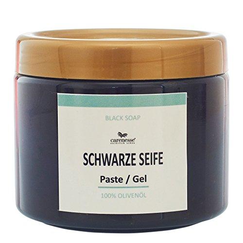 Carenesse Savon Noir, Schwarze Seifen-Paste aus reinem Olivenöl, 400 ml