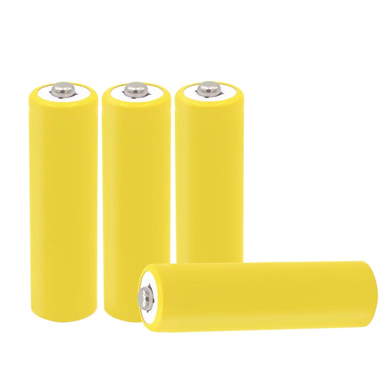 4-Pack AA Battery Placeholder Cylinder AA Size Hot Dummy Fake Battery Setup Shell