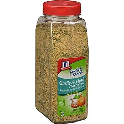 McCormick Perfect Pinch Garlic and Herb Salt-Free Seasoning, 20 oz