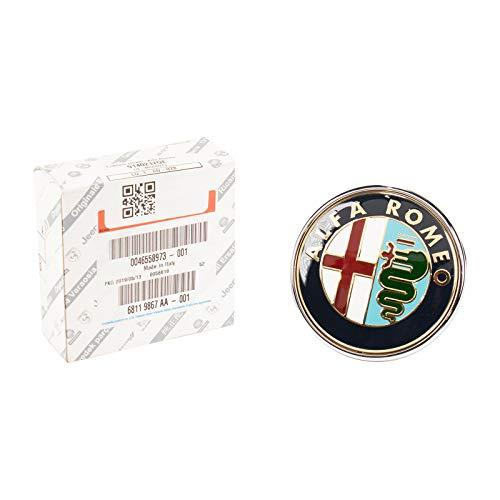 Original Alfa Romeo 147 Facelift calandre logo emblème SCUDETTO 156058943