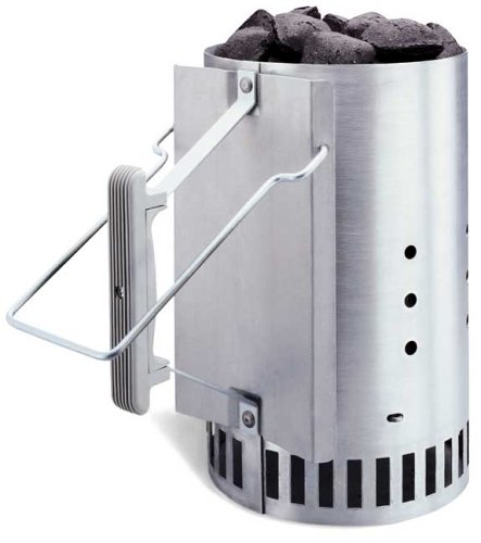 Cheapest Prices! Weber Chimney Starter (The Only Way to Start Your Barbeque)