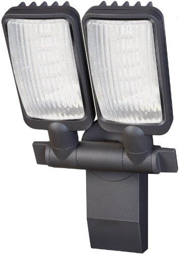 Brennenstuhl LED-Strahler Duo Premium City / LED-Leuchte für außen und innen (IP44, dreh- und schwenkbar, 30 Watt, 6400 K)