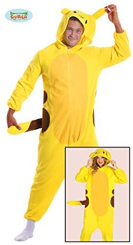 Fiestas Guirca Kostüm-Pyjamas Chinchilla Tutone Cosplay Pokemon Electro