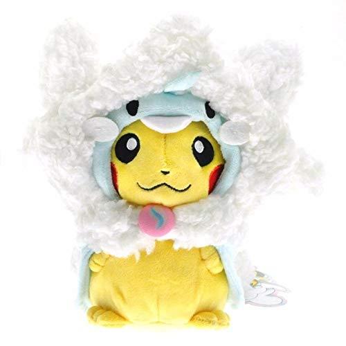 AYLAODI Plush Toy Pikachu Plush Toys Dolls Cosplay Charizard Ekans Eevee Sleeping Bag Soft Stuffed Animal Doll