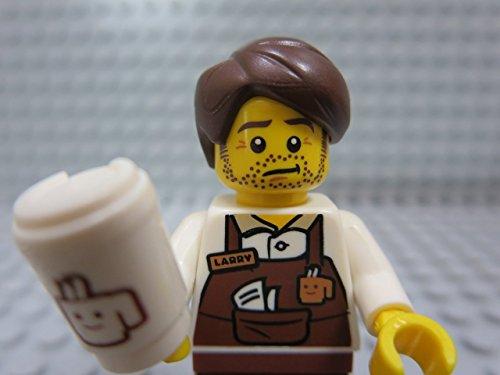De Lego Movie Larry de Barista Koffie Minifiguur Serie 71004