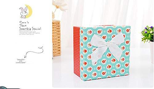 Cuzit - Caja de música de madera con forma de corazón, regalo para Navidad,...