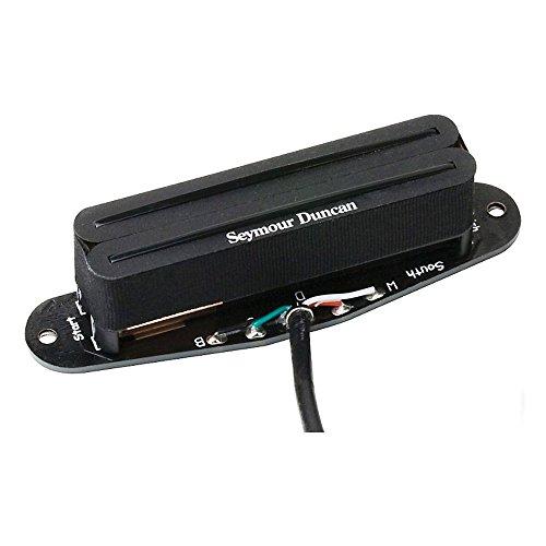 Pastilla de guitarra telecaster Seymour Duncan STHR-1N Hot Rails humbucker. Posición de mástil.