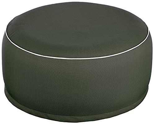 Brand sseller Outdoor Pouf Saco de Asiento (para Interior y Exterior Hinchable–55x 25cm–Colores: Negro, Antracita, Gris Claro, Rosa, Verde, Turquesa