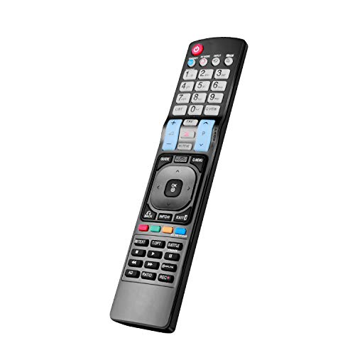 New Replacement TV Remote Control AKB72914293 Fit for All LG 3D LCD Ultra HD TV - No Setup Required TV Universal Remote Control AKB72915207 AKB72914209