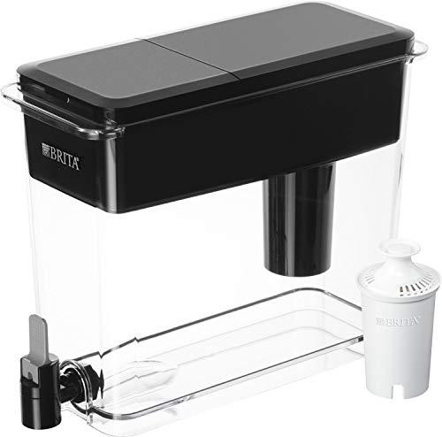 Brita Standard UltraMax Water Filter Dispenser, Black, Extra Large 18 Cup, 1 Count