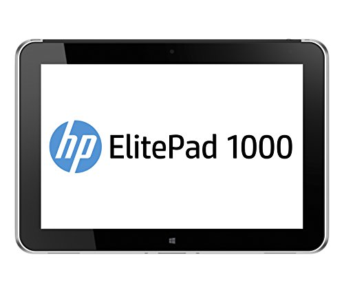 HP ElitePad 1000 G2 - Tablet de 10.1' (Bluetooth + WiFi, Intel Atom Z3795, 4 GB de RAM, memoria interna de 64 GB, Windows 10 Pro), plateado