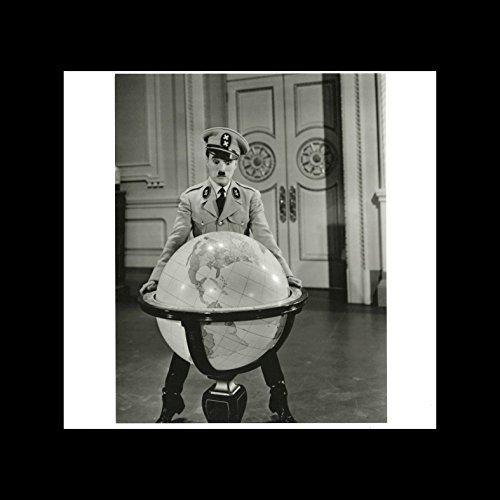 Stick It On Your Wall Charlie Chaplin–Der große Diktator 1949Mini Poster–40x 40cm