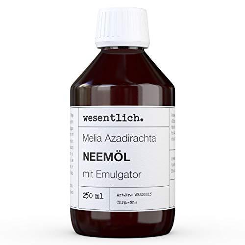 wesentlich Neemöl mit Emulgator 250ml - fertig gemischt für sofortige Anwendung