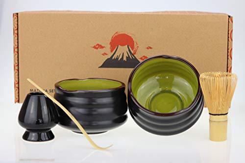 Urban Lifestyle Matcha Set Uji Doppelpack mit 2 Schalen (Grün)