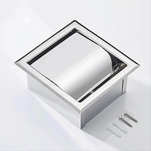 LELME Toilettenpapierhalter Für Badezimmer Unterputz Toilettenpapierhalter Für Toilettenpapierrollen Aus Edelstahl 304, Unterputz