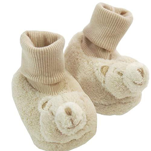 Mayoral JUNGEN - Zapatos sonajeros para bebé, color marrón claro, color Beige, talla 17 EU